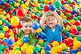 Details about 100 SOFT PLAY BALLS KIDS PLASTIC FOR BALL PITS TENTS PEN BABY POOL COLOURED TOY