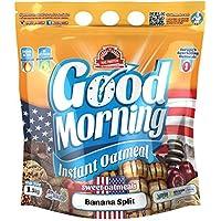Max Protein - Good Morning Instant Oatmeal, Harina de avena, 1,5kg Banana