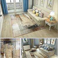 Bath Time Flagship Store LUYIASI- Modernen Minimalistischen Wohnzimmer Teppich mit Couchtisch Schlafzimmer Voll Teppich nordischen rechteckigen Non-Slip Mat (Farbe : B, Größe : 180x280cm)