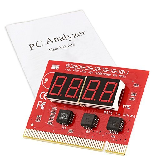 Buyyart New PCI 4-Digit PC Motherboard Diagnostic Card With User Manual