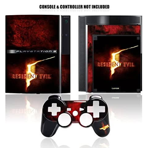 Mad Catz Resident Evil 5 Controller Faceplate - Konsole Skin Logo [UK Import] (Resident Evil Controller)