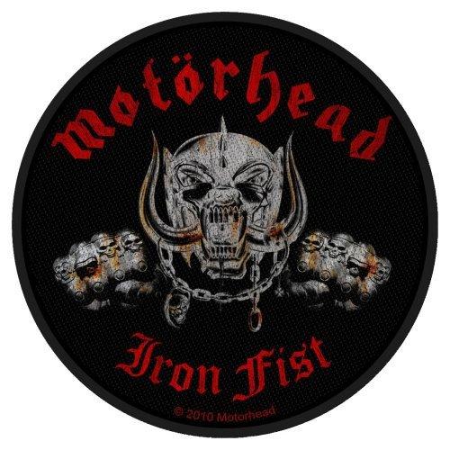 Motorhead Iron Fist Skull Official Circular Patch (10cm)