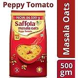 Saffola Masala Oats, Peppy Tomato, 500g