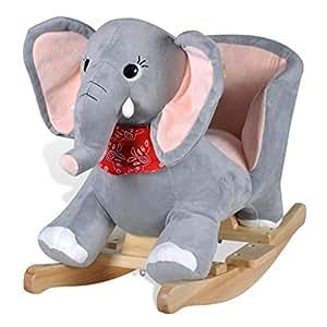 vidaXL Animal de elephant à bascule