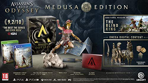 Price comparison product image Assassins Creed Odyssey Medusa Edition (PS4)