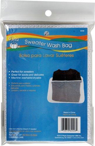 Dritz Pullover Wash Bag 1-x 53,3cm, Acryl, mehrfarbig, 3-teilig (Bag Wash Pullover)
