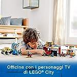 LEGO-City-Turbo-Wheels-Autofficina-Giocattolo-con-una-Roulotte-e-Veicoli-tra-cui-un-Carro-Attrezzi-un-Bolide-e-una-Moto-a-Razzo-con-7-Minifigure-Set-di-Costruzioni-per-Bambini-7-Anni-60258