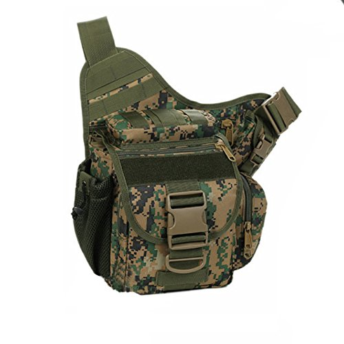 YAAGLE Tarnung satteltasches Paket bauchtasche gürteltasche hüfttasche Umhängetasche Kameratasche Outdoor Schultertasche militärisches satteltasches Paket