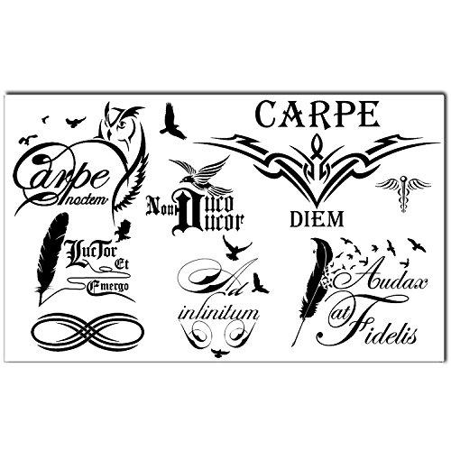 tatuaggi-temporanei-tribali-neri-set-frasi-latine-da-8-bling-art-tatuaggi-da-donne