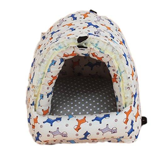 Hamster Coton Nid douillet chaud Lit Maison Lovely Fermeture Éclair chaud Cage