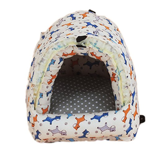 Hamster Baumwolle Nest Cozy Warm Bett House Lovely Reißverschluss Warm Käfig