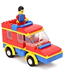#10: Speed Vehicle Multi Color - 135 pieces