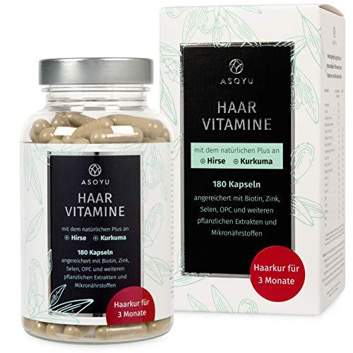 ASOYU Haar-Vitamine - 180 vegane Kapseln (3