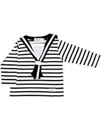 Augustin - Tshirt rayé col matelot