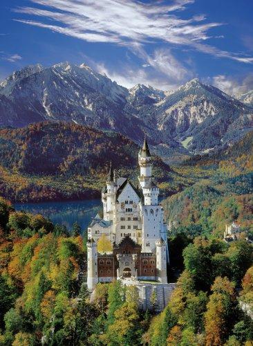 Clementoni Puzzle 30371 - Neuschwanstein - 500 pezzi High Quality Collection