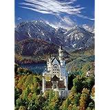 Clementoni 30371.7 - Puzzle de 500 piezas, diseño de castillo de Neuschwanstein