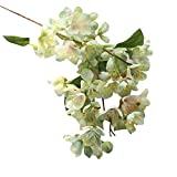 RWINDG Künstliche Gefälschte Blumen Blatt Kirschblüten Blumen Hochzeit Bouquet Party Decor Pfingstrosen Bodenvase Groß Grabblumen Bestellen Plastik