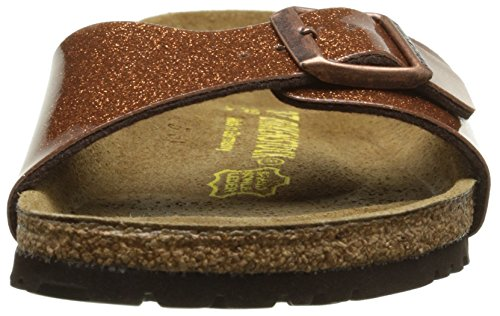 Birkenstock Madrid, Mules Femme Marron (Magic Galaxy Brown)