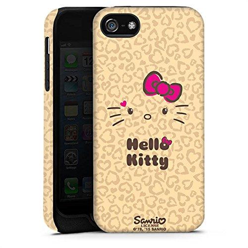 Apple iPhone X Silikon Hülle Case Schutzhülle Hello Kitty Merchandise Fanartikel Leo Tough Case matt