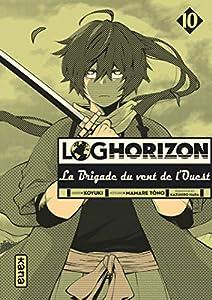 Log Horizon : La brigade du vent de l'ouest Edition simple Tome 10