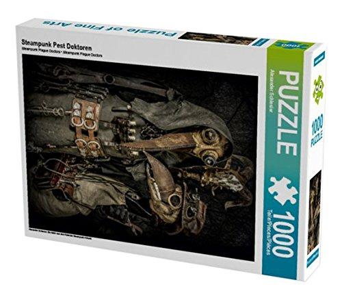 Steampunk Pest Doktoren 1000 Teile Puzzle hoch (CALVENDO Kunst)