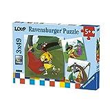 Ravensburger Puzzle 49 Teile - 3 Puzzles - Loup