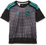 adidas CF1590 Camiseta, Niños, Negro (Granit), 164-13/14 años