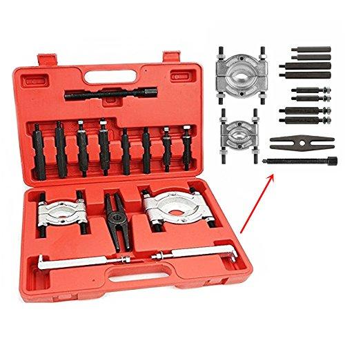 SAILUN 14-tlg Universal Bearing Separator Lagerabzieher Set Polradabzieher Trennmesser Werkzeug Satz Lager Abzieher Kit