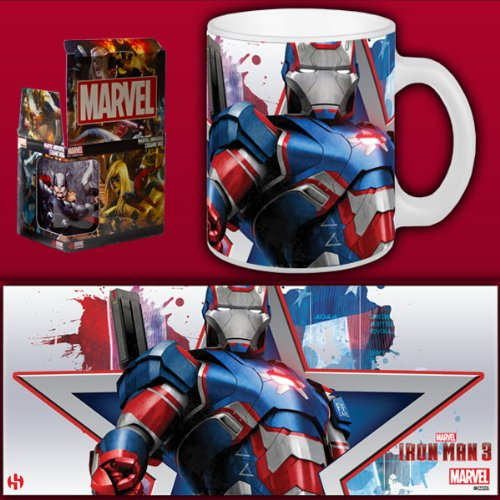 Marvel Tazza Iron Uomo 3 - Iron Patriot