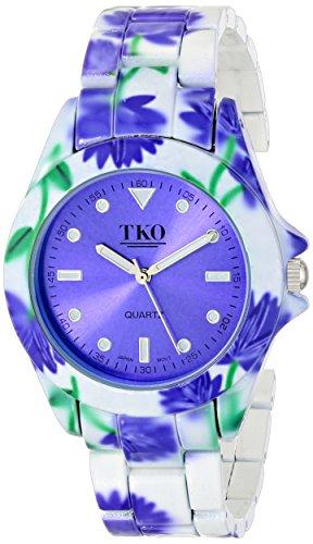TKO ORLOGI Women's TK642BL Floral Watch