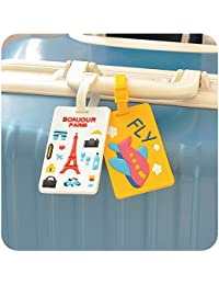 Generic Tigger : Creative Travel Bag Luggage Case Label Straps Flight Check Consignment Boarding Suitcase Name ID Address Tags