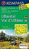 KOMPASS Wanderkarte Ultental, Val d'Ultimo: Wanderkarte mit Aktiv Guide, Radrouten und Skitouren. GPS-genau. 1:25000: Wandelkaart 1:25 000 (KOMPASS-Wanderkarten, Band 52)