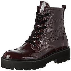 Kennel und Schmenger Bobby, Damen  Combat Boots, Rot (Amarone Sohle Schwarz), 40 EU (6.5 UK)