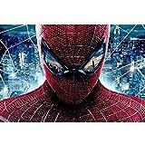 AMY-ZW Spider-Man Comics Puzzles 300/1000 Marvel Avengers Morceaux Déballés Super-héros Affiche Puzzles for Adultes Enfants De Noël Cadeaux d'anniversaire (Color : G, Size : 300pc)