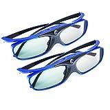 2xAPEMAN 3D Brille DLP Glasses Series Re-chargeable 3D VR Brillen