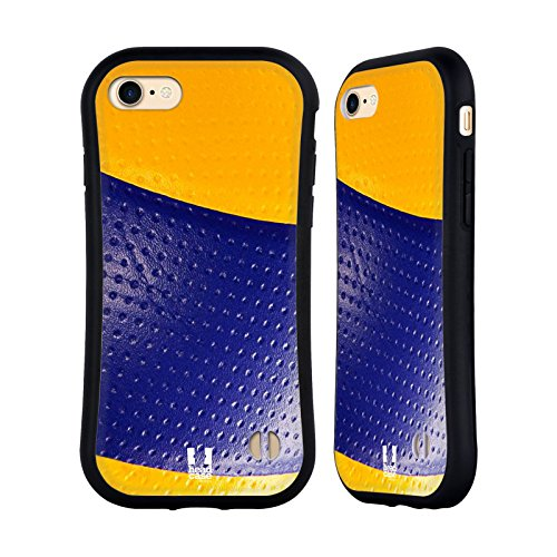 Head Case Designs Rugby Collections Boules Étui Coque Hybride pour Apple iPhone 5 / 5s / SE Volleyball