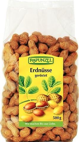 Rapunzel Erdnüsse in der Schale geröstet, 1er Pack (1 x 500 g) - Bio