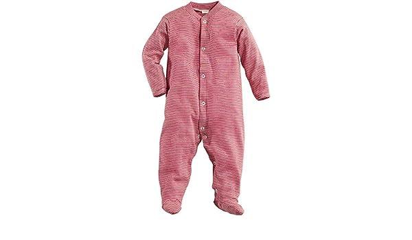 43630493405ec6 Bio Schlafoverall aus reiner Bio-Baumwolle, rot, 86/92: Amazon.de: Baby