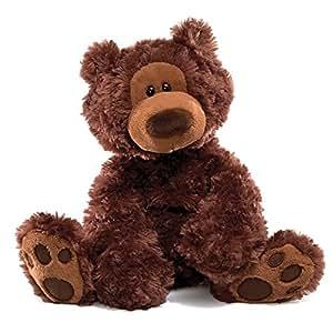 GUND Philbin Bear Small 33 cm (Chocolate)