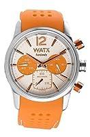 Watx Reloj con Correa de Caucho RWA0485 de Watx