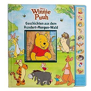 Winnie Puuh - Geschichten aus dem Hundert-Morgen-Wald: Vorlese-Pappbilderbuch mit 10 Melodien - Kinderlieder