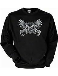 Biker & Motorrad Sweatshirt: Rock-n-Roll