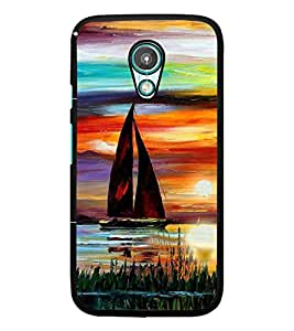 PrintDhaba Painting D-4892 Back Case Cover for MOTOROLA MOTO G2 (Multi-Coloured)