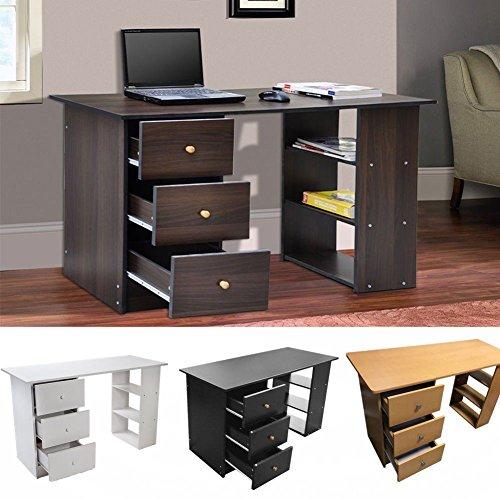 Preisvergleich Produktbild Generic Off Home Office Esk DR Möbel für Büro ST Studie PC ffice Computer Schreibtisch Schublade Station Tisch Workstation Farbe: zufällige