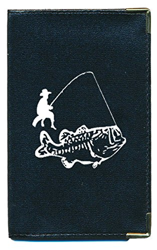 Tasche Schutz Schutzhülle für Kfz-Papiere-Führerschein Fischen