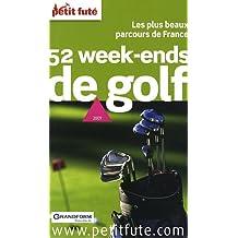 Petit Futé 52 week-ends de golf