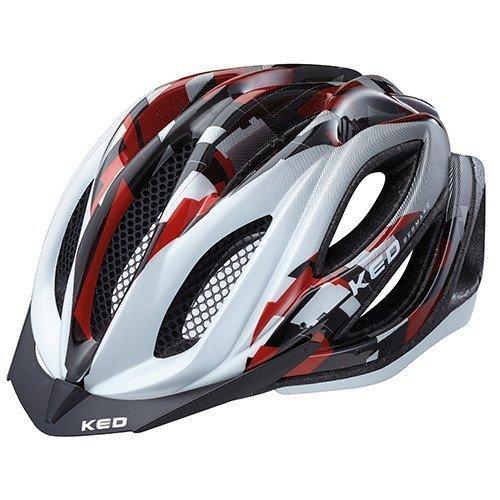 ked-fahrradhelm-paganini-visor-grosse-l-kopfumfang-56-62-cm-red-pearl-leichter-cross-country-helm-im