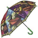 Paraguas Teenage Mutant Ninja Turtles - Paraguas para niño de...