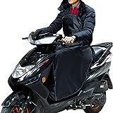 Cubrepiernas Moto con Banda El/ástica Impermeable A Prueba De Viento Fundas para Motos para Motocicletas Scooter Electric Cars Easy-topbuy Cubrepiernas para Scooter Negro