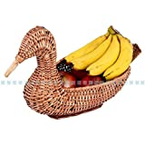 JGC Cane Fruit Vegetable Basket (Duck)